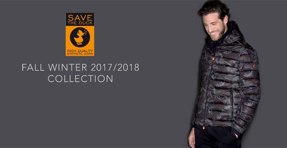 Save The Duck Collezione Uomo Autunno Inverno 2017/18